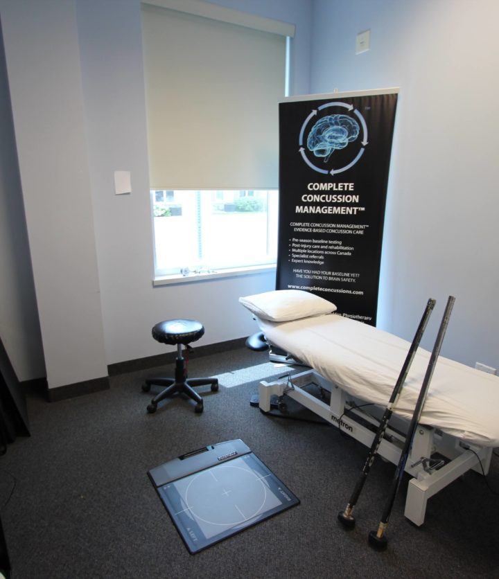 Concussion Assessment & Treatment Room